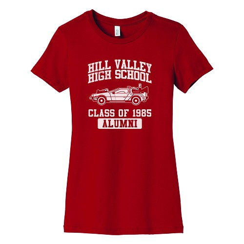 Hill Valley High School Women's Crew Neck T-Shirt