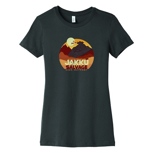 Jakku Women's Crew Neck T-Shirt