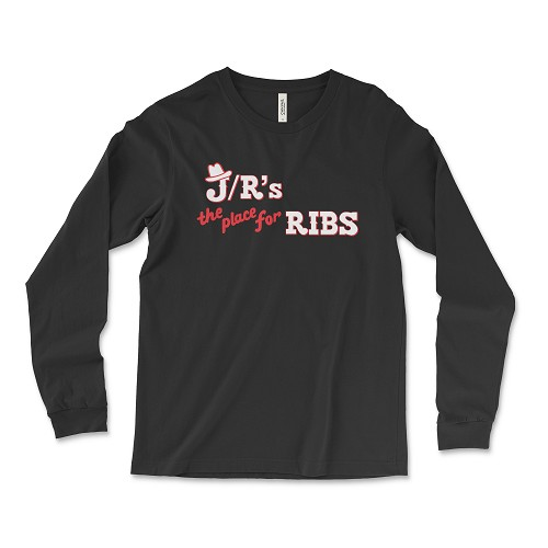 J/R's The Place For RIbs Long Sleeve T-Shirt