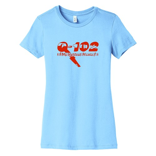 Q-102 Women's Crew Neck T-Shirt