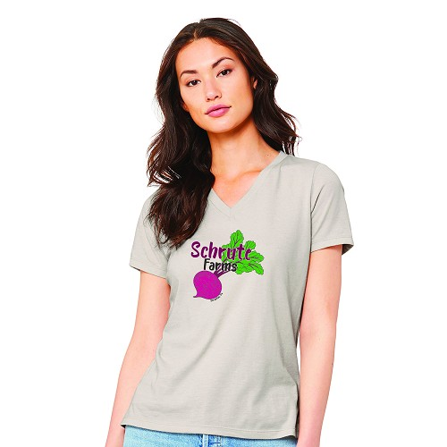 Schrute Farms Women's V-Neck T-Shirt