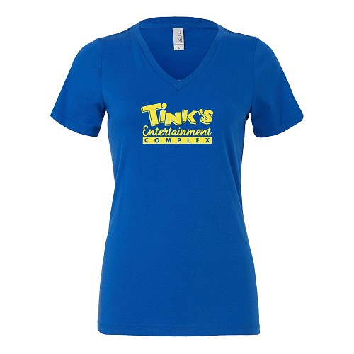 Tink's Entertainment Complex Women's V-Neck T-Shirt