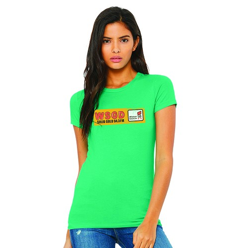WSGD 94.3FM Women's Crew Neck T-Shirt